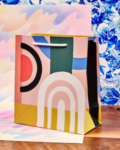 Colorblock Gift Bag