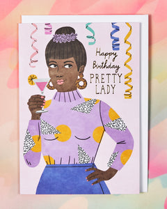 HB Pretty Lady Card