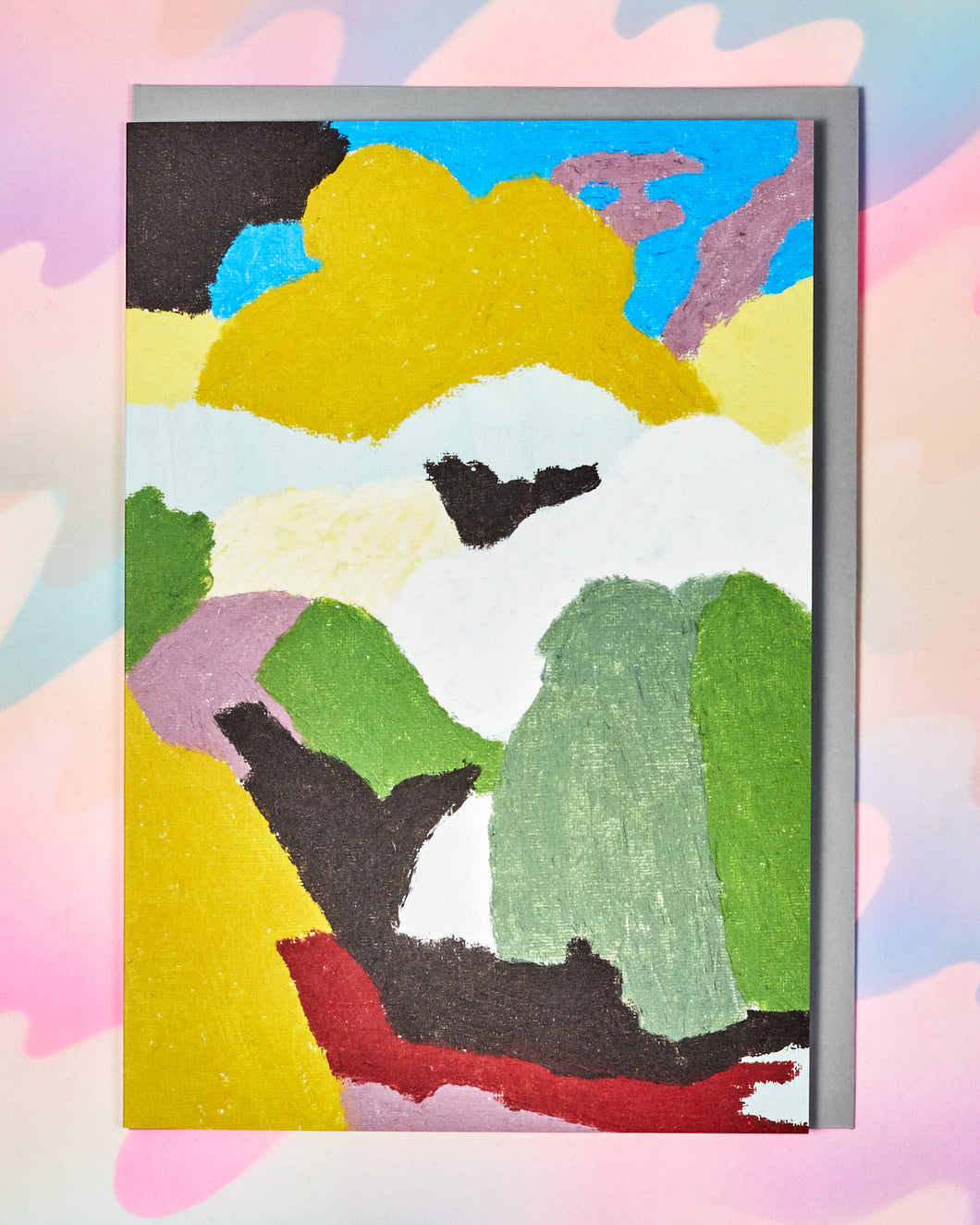 Abstract Landshapes Card
