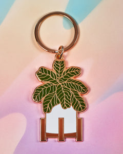 Fiddle Fig Keychain