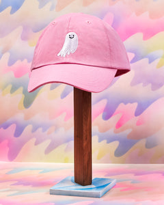 Touch Ghost Hat - Pink