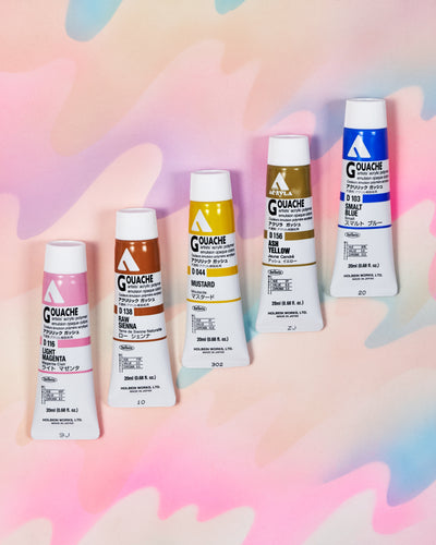 Touch Palette Acryla Gouache Set of 5 - Cottage