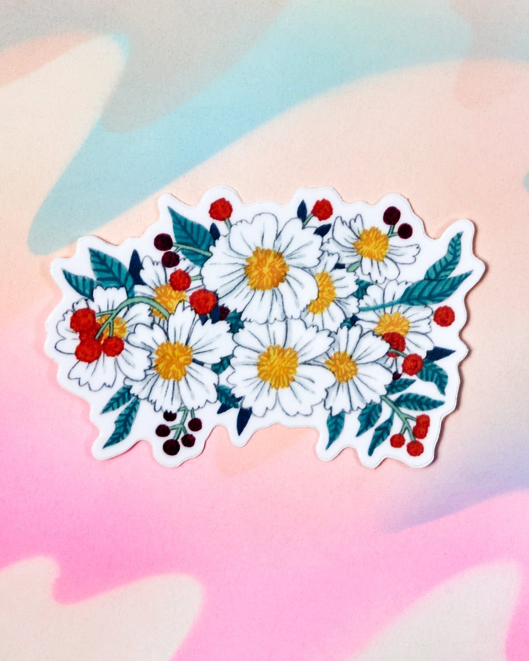 Flower Bouquet Sticker