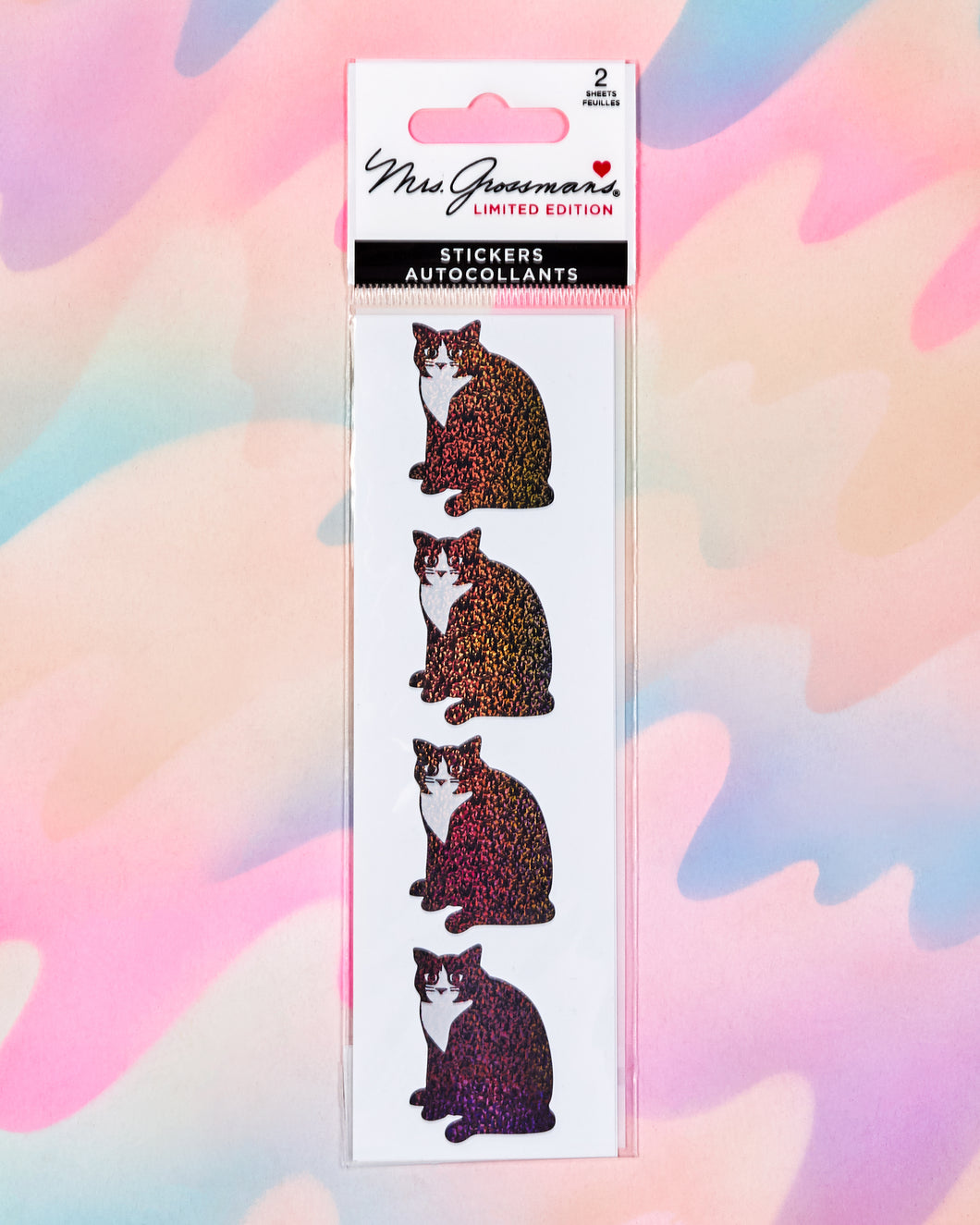 Vintage Cats Stickers