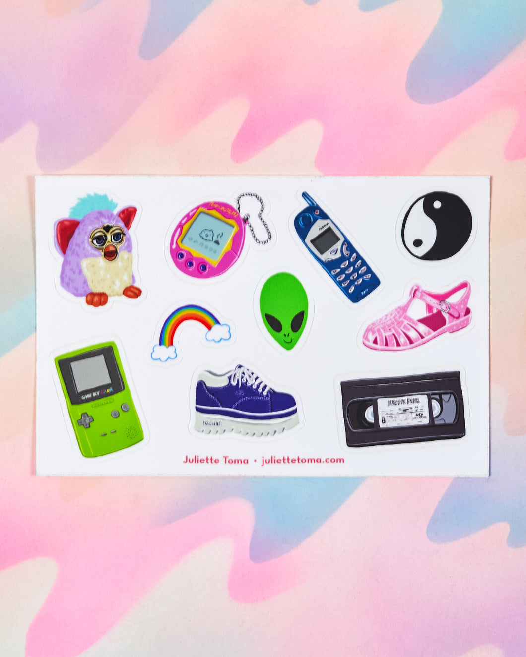 90s Sticker Sheet