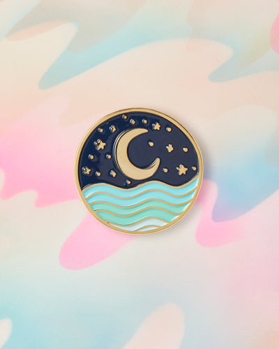 Nightscape Pin