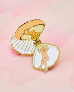 Clam Shell Pin