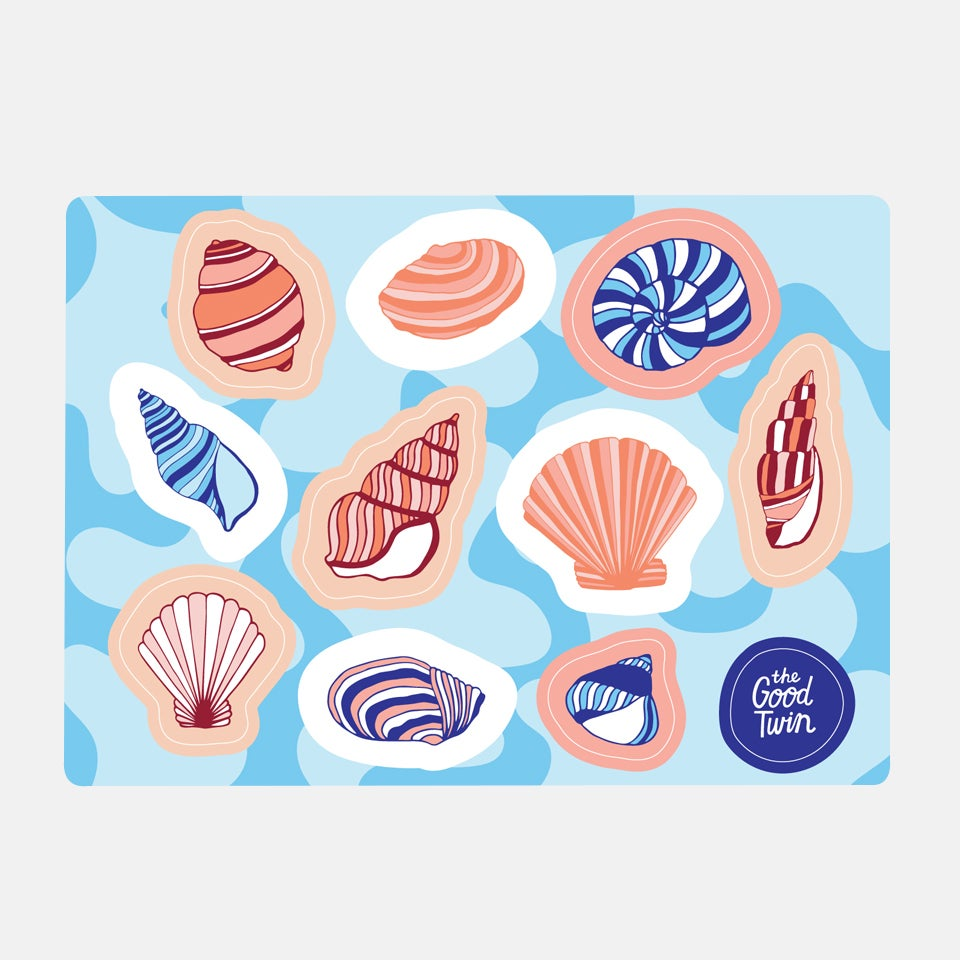Shell Sticker Sheet