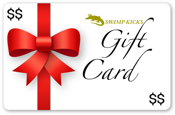 Buy Swamp Kicks Gift Cards