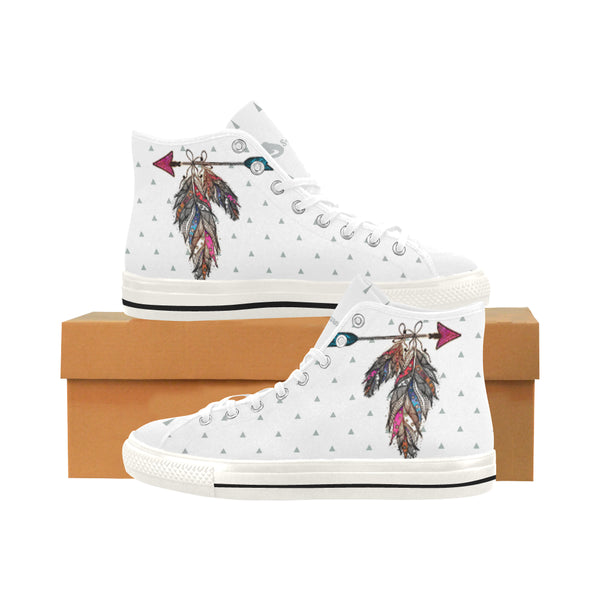 Feather Women's Vancouver High-Top Canvas Sneakers - Swamp Kicks