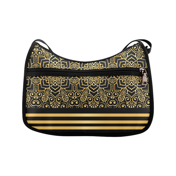 Black Gold Shoulder Bag - Swamp Kicks