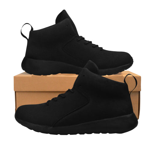 Women's Athletic Black Basketball Sneakers