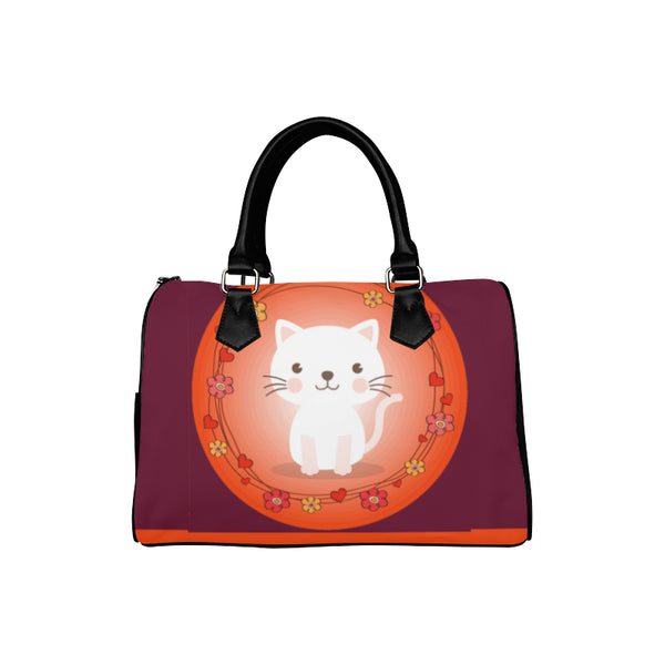 Pretty Kitty Women's Fashion Barrel-Style Handbag