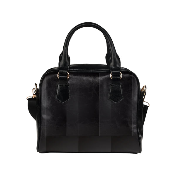 Women's Black Shoulder Handbag - Swamp Kicks