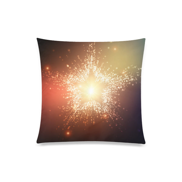 "Star Throw Pillow Cover 20""x 20"" Square Pillow Cover - Swamp Kicks"