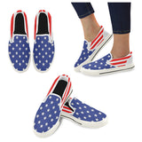 Women's American Flag Casual Slip-on Shoes - Swamp Kicks