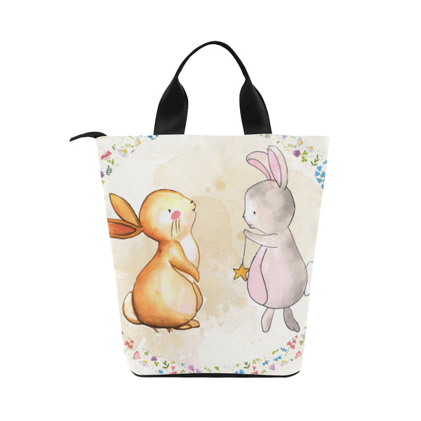 Bunnies Nylon Cylinder Adult Lunch Bag - Swamp Kicks