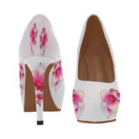 Orchids Women's High Heel Platform Shoes