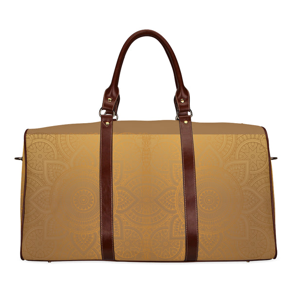 Morning Sun Small Brown Travel Bag Brown