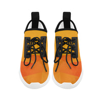 Tangerine Orange Women's Ultra Light Dolphin Running Shoes - Swamp Kicks