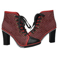 Women's Redstone Canvas Lace Up Ankle Boots