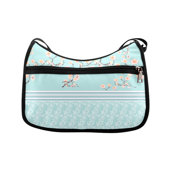 Spring Blossoms Shoulder Bag - Swamp Kicks