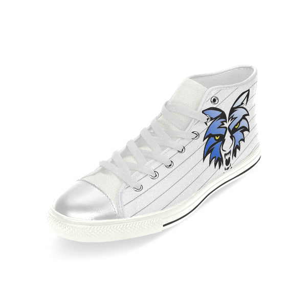 938d0ab5ef15 Kids White Wolf Aquila High Top Canvas Kid s Sneakers Tennis Shoes ...