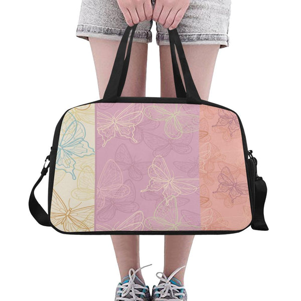 3 Butterflies Crossbody Travel Bag - Swamp Kicks