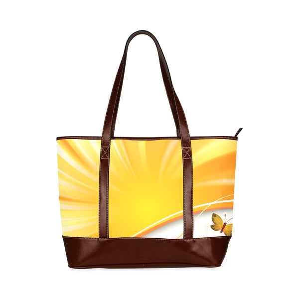 Rays Women's Leather Tote Bag - Swamp Kicks