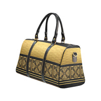 Black & Gold Travel Bag - Swamp Kicks