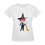 Women's Halloween Witch T-shirt