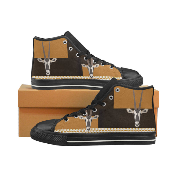 Antelope Men's Aquila High Top Canvas Shoes - Swamp Kicks