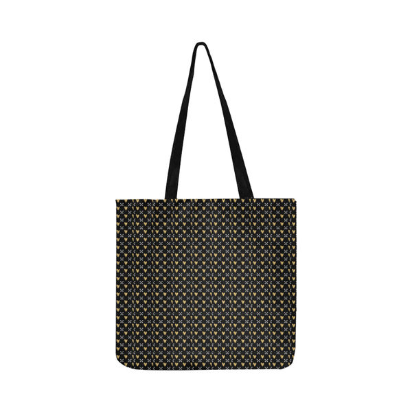 Mini Hearts Lightweight Shopping Tote Bag