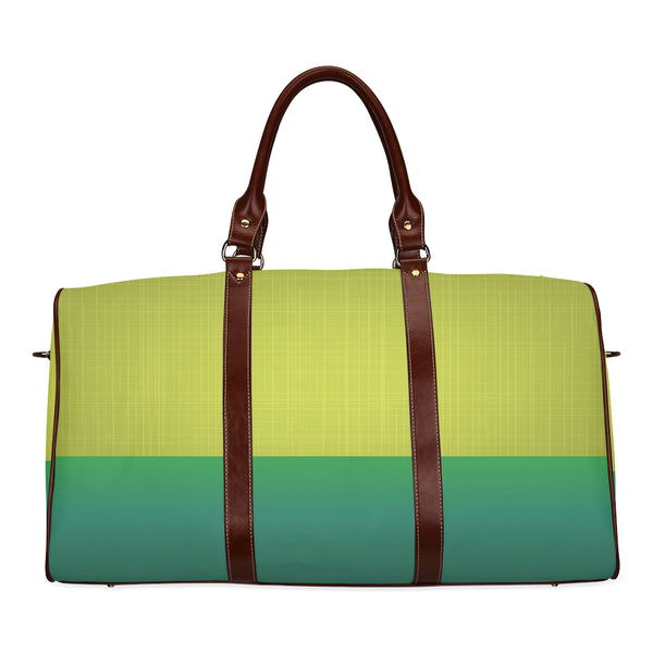 Two-Tone Green Travel Bag - Swamp Kicks