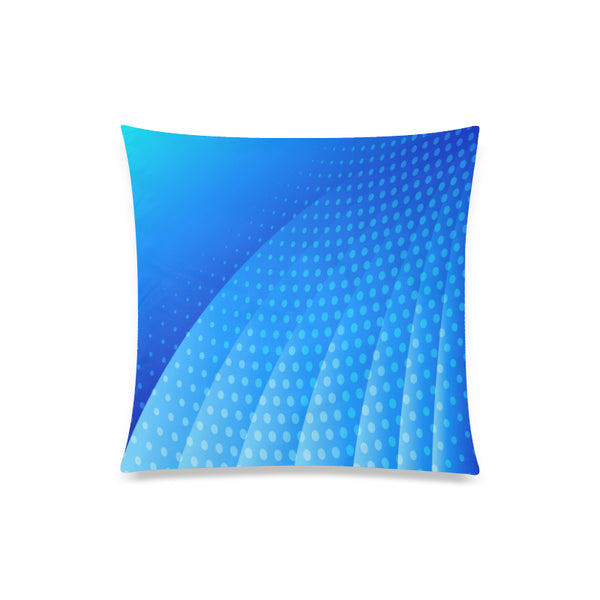 "Blue Horizon Throw Pillow Cover 20""x 20"" - Swamp Kicks"