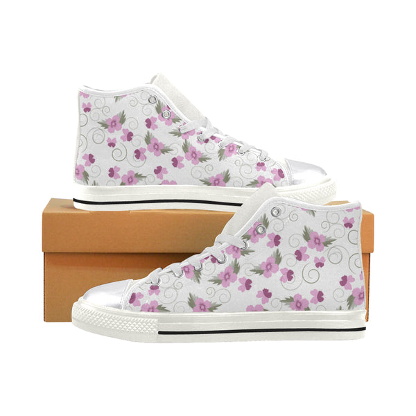 Women's Flutter Aquila High Top Canvas Sneakers - Swamp Kicks