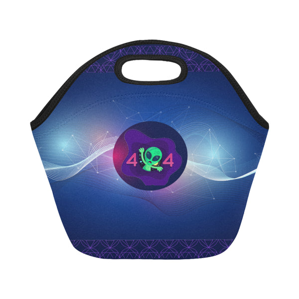 Space Neoprene Adult Hot/Cold Food Lunch Bag