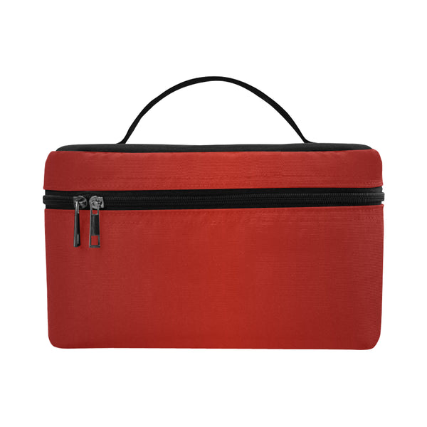 Ruby Red Large Cosmetic Bag