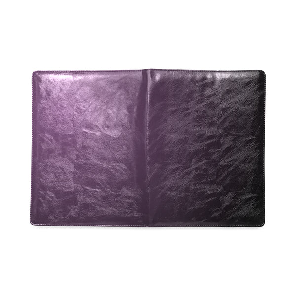 Deep Purple Custom Ruled Leather Notebook B5 - Swamp Kicks