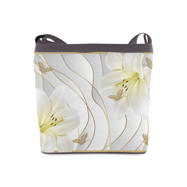 White Butterfly Shoulder Sling Bag