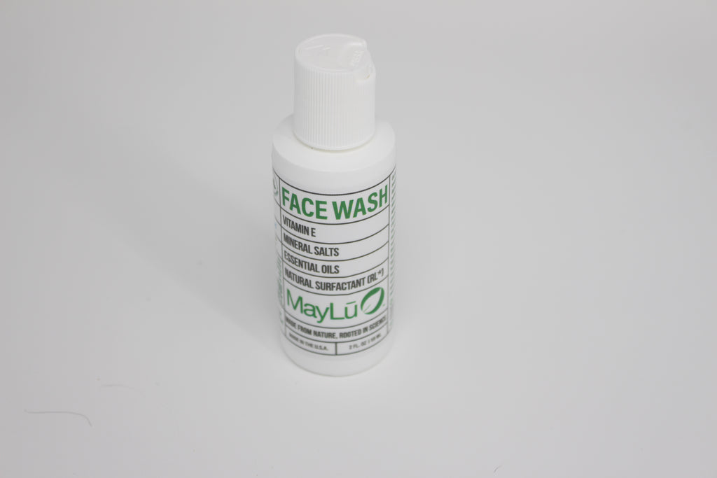 Travel Size Natural Face Wash