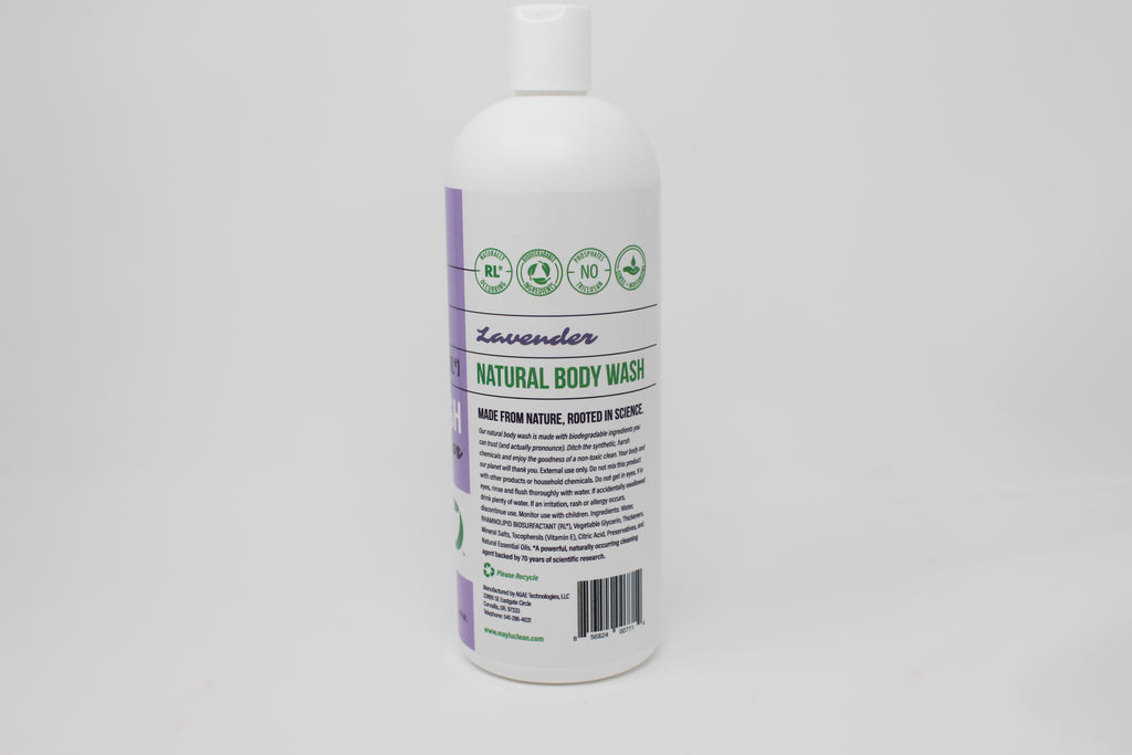 Unscented Natural Body Wash