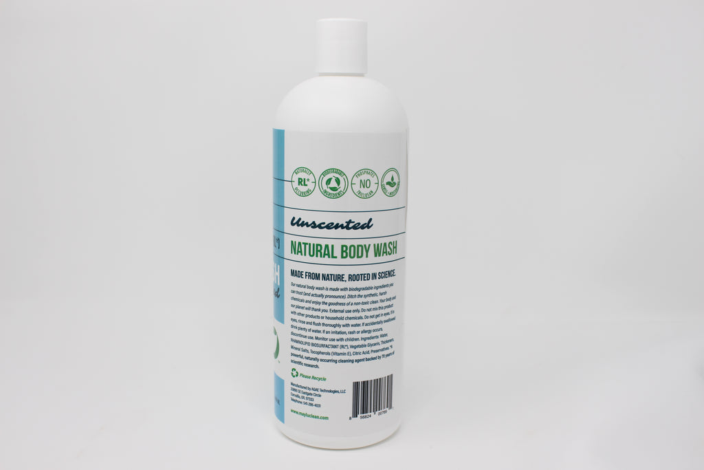 Lemongrass & Tea Tree Natural Body Wash