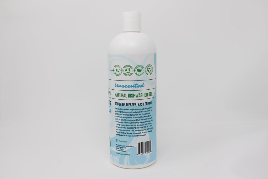 Unscented Natural Dishwasher Gel