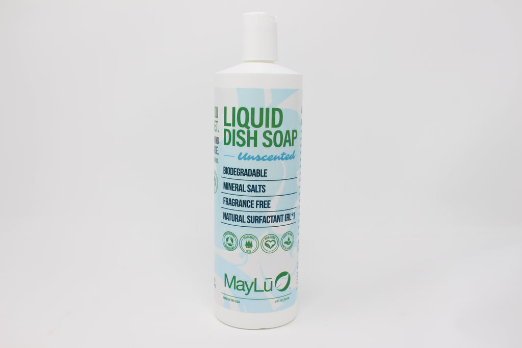Unscented Natural Liquid Dish Soap