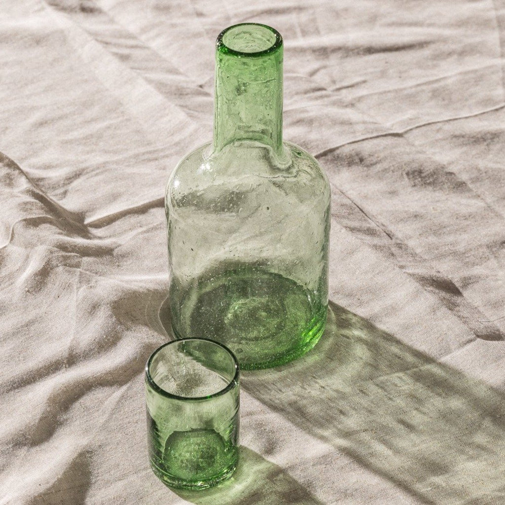 Nada Duele, Bedside Carafe by Guatelmalan design brand Nada Duele, via White Label Project