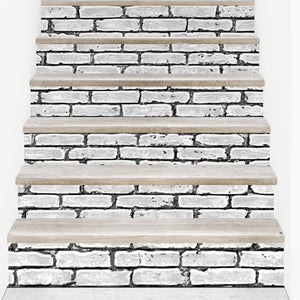 DIY Stair Sticker Home Decor Ceramic Tiles Pattern