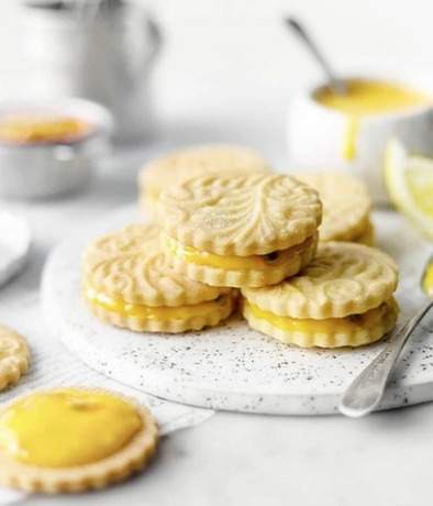 Gluten Free Lemon Passion Fruit Cookies