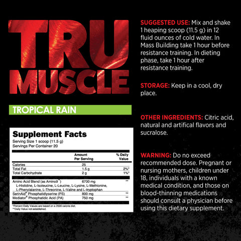 trumuscle supplement Facts