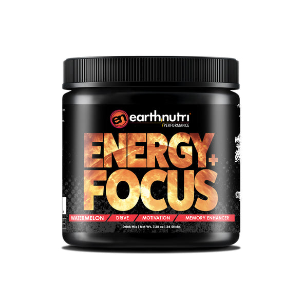 earthnutri Energy+Focus Watermelon